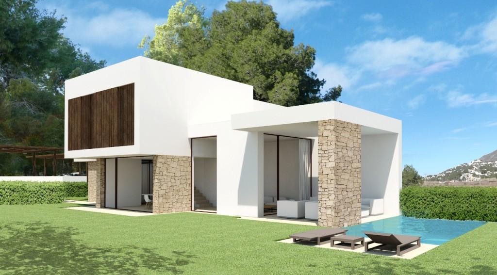 Design villa in Moraira