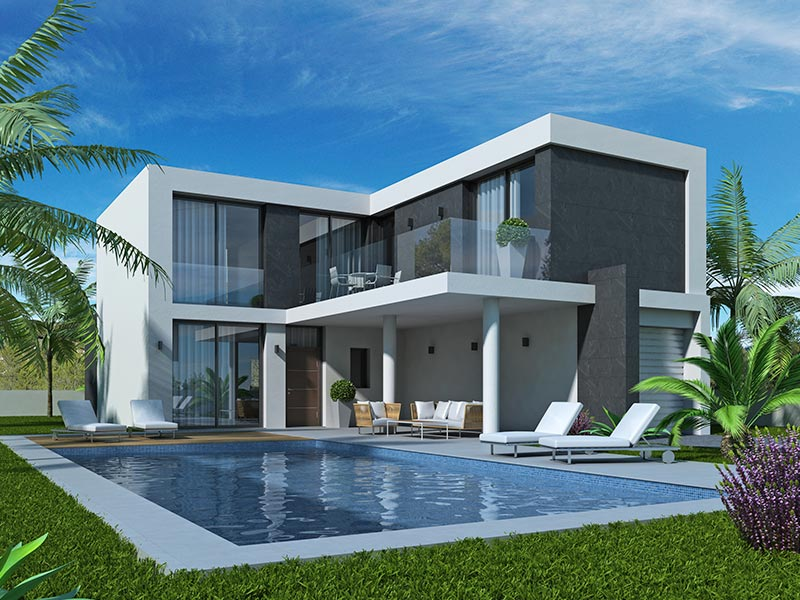 Design villa in la marina
