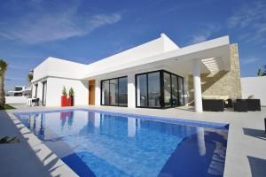 Design villa Spanje